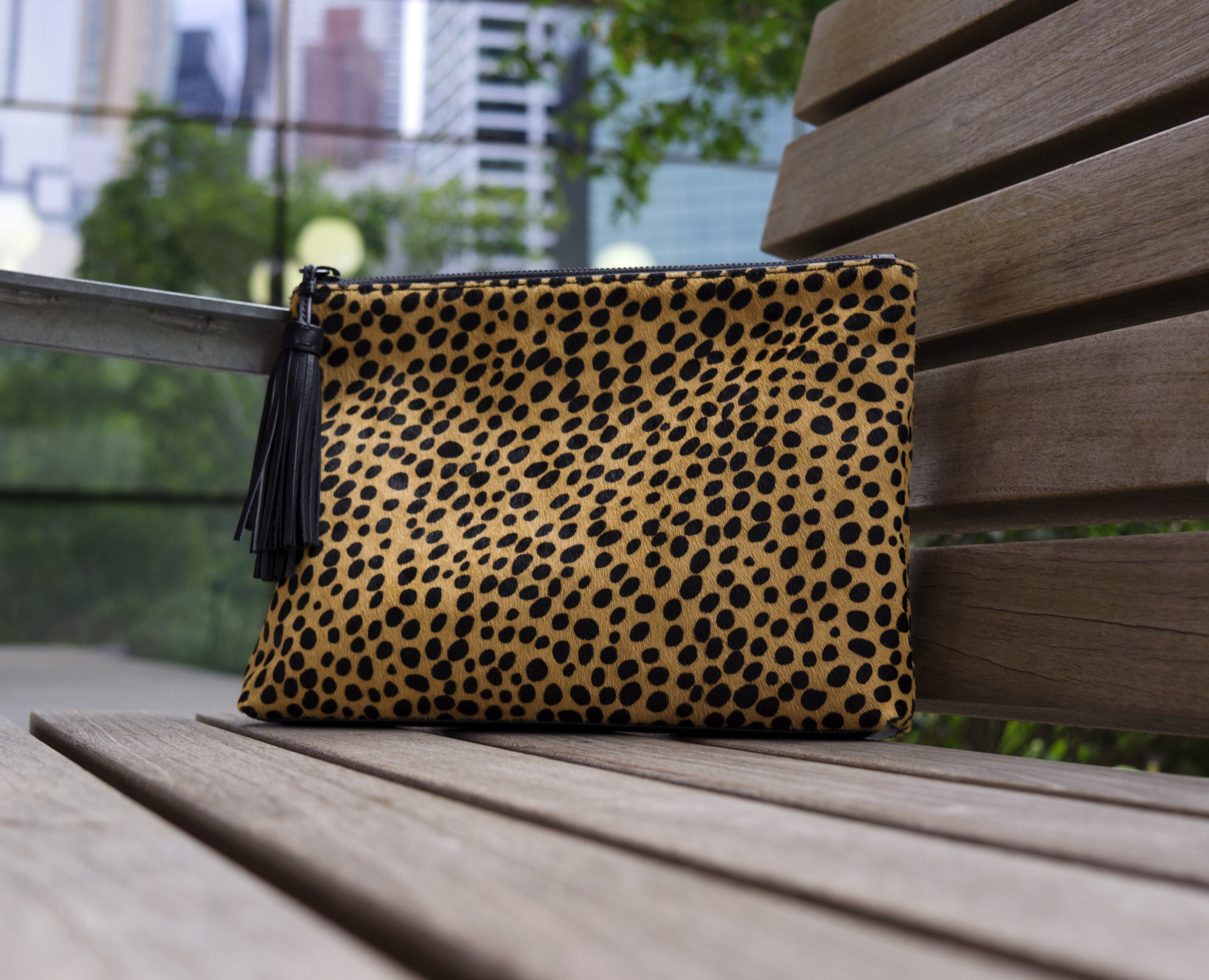 Bag Picks: Loeffler Randall Cheetah Clutch – BAG WATCH
