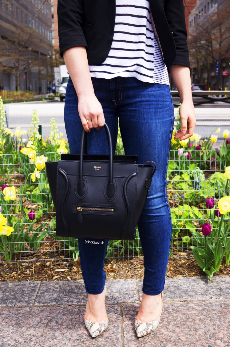 d47d58c12a On the Street  Céline Micro Luggage Tote – BAG WATCH
