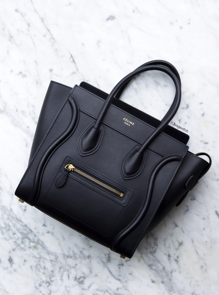 On the Street  Céline Micro Luggage Tote – BAG WATCH 5741db3e0769d
