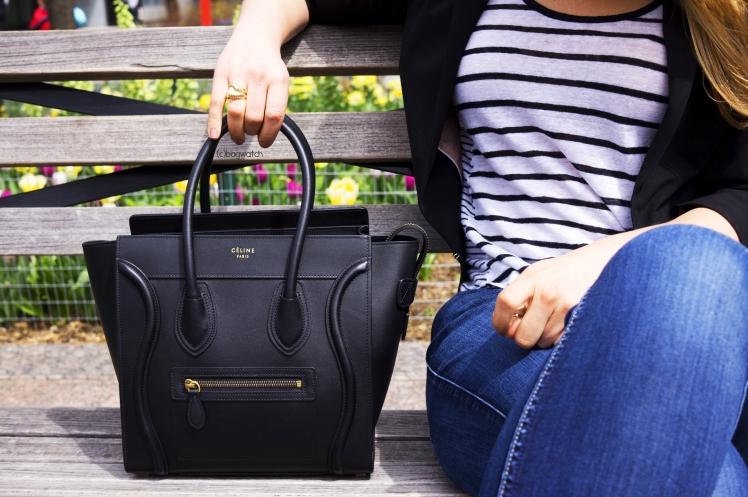 On the Street  Céline Micro Luggage Tote – BAG WATCH 96ea474c80d4e