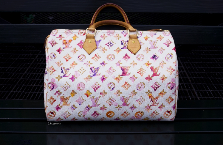 Louis Vuitton Aquarelle Watercolor Speedy 35 5