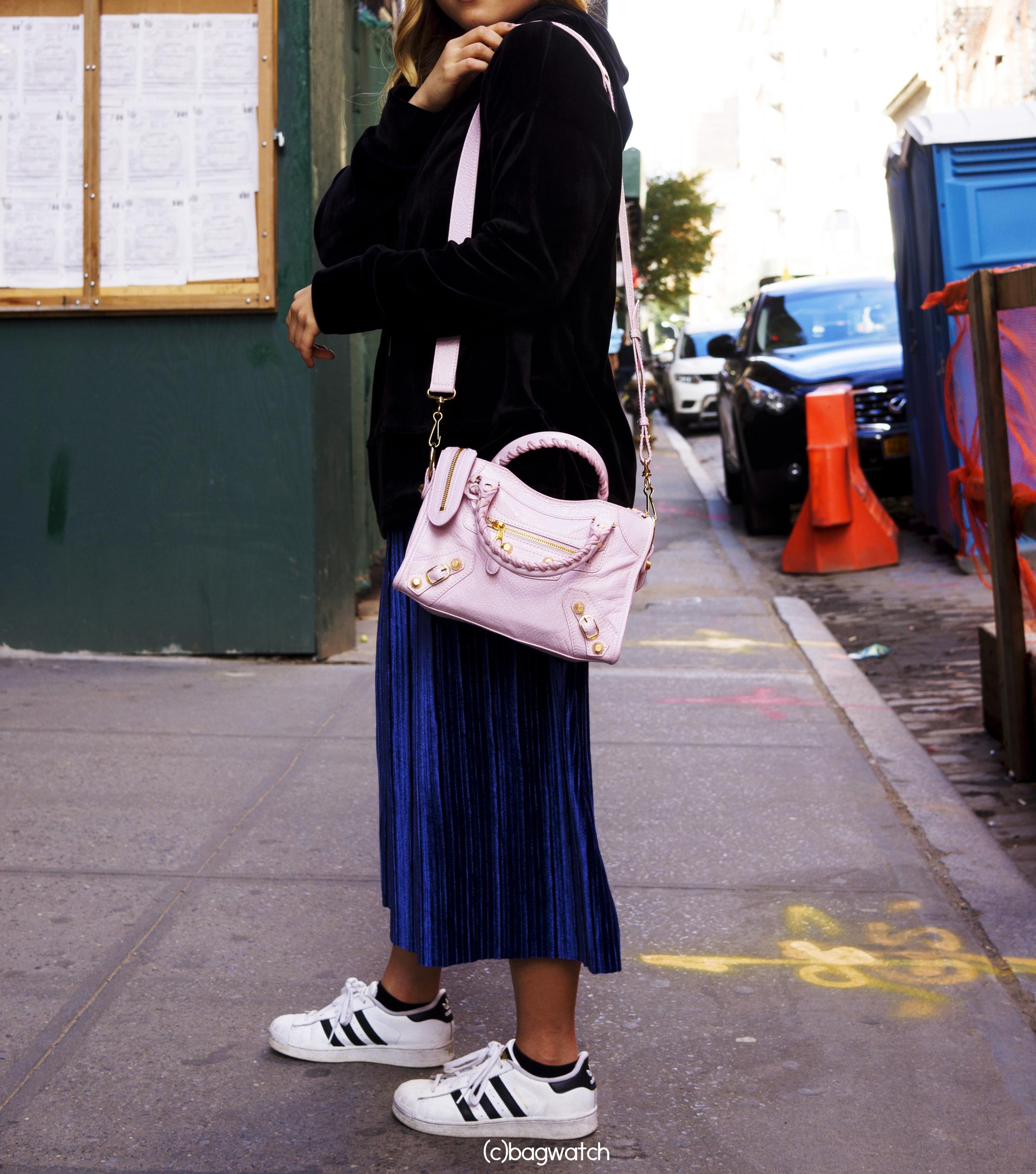 balenciaga mini city bag review