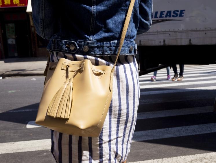 Jcrew Mini leather bucket bag 7