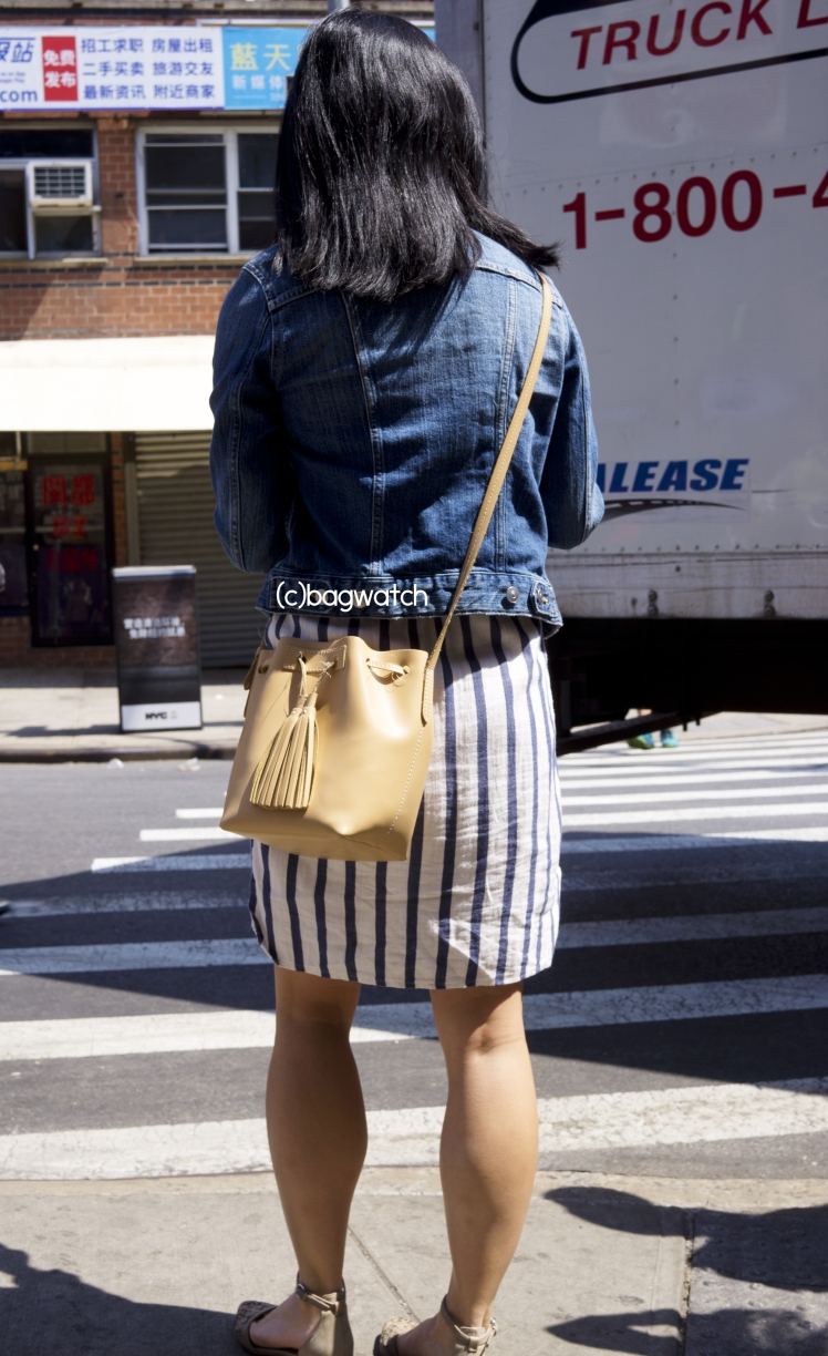 Jcrew Mini leather bucket bag 8