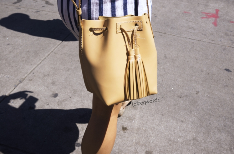 Jcrew Mini leather bucket bag